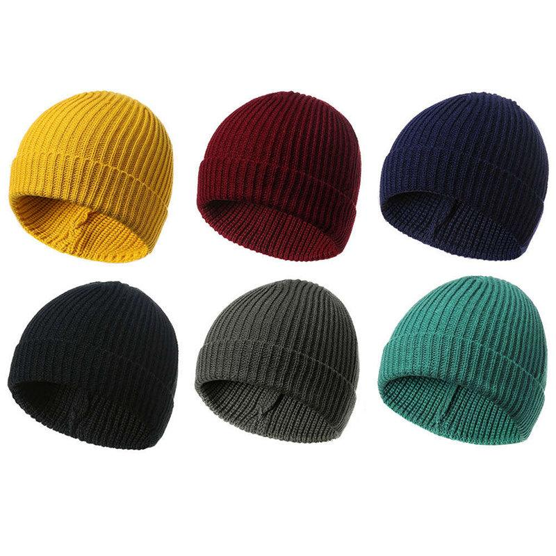 New 2018 Hat Autumn Winter Turban Beanie Hat For Warm Women Casual Knitted  Female Skullies Beanies Colorful Cap Cap Hat Cute Beanies From Kwind 7356571f16e