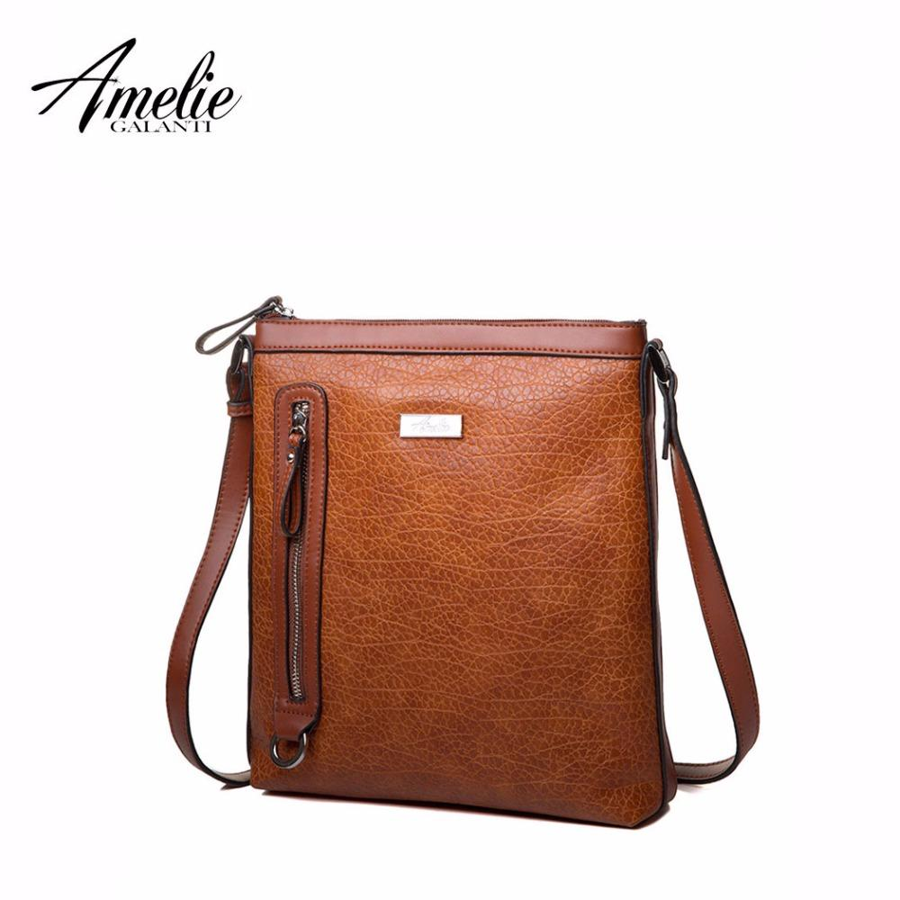 bd53bd926d 2019 Fashion AMELIE GALANTI Women S Bag Shoulder   Crossbody Bags ...