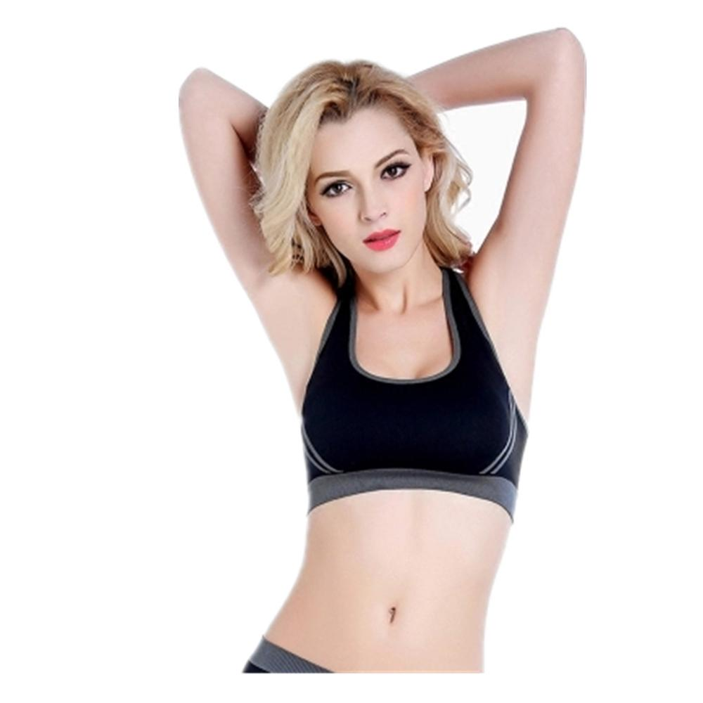 Women/'s Wirefree Comfort Bra Comfy Shapewear Sports Stretch Crop Top Vest Suppot
