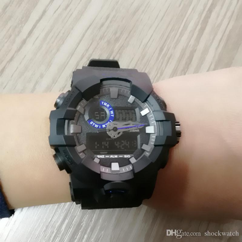 3aa176e4d890 Compre Barato Mejor Venta Estilo G Relojes Deportivos LED Reloj Digital  Ejército Militar Relojes Shock Hombres Reloj Reloj Impermeable Con Caja  Envío Gratis ...