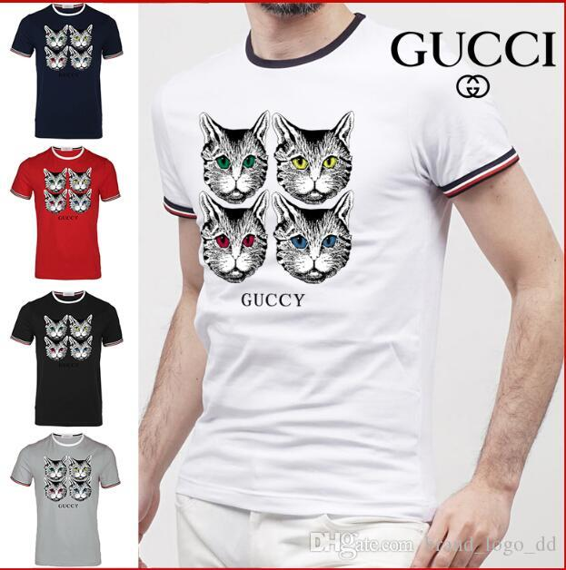 5e914af87dec G  New Summer Designer T Shirts Mens Tees Luxury Brand T Shirt Brand Letter  Pattern Mens Clothing Short Sleeve Tshirt Casual T Shirt T Shirt Prints T  Shirt ...