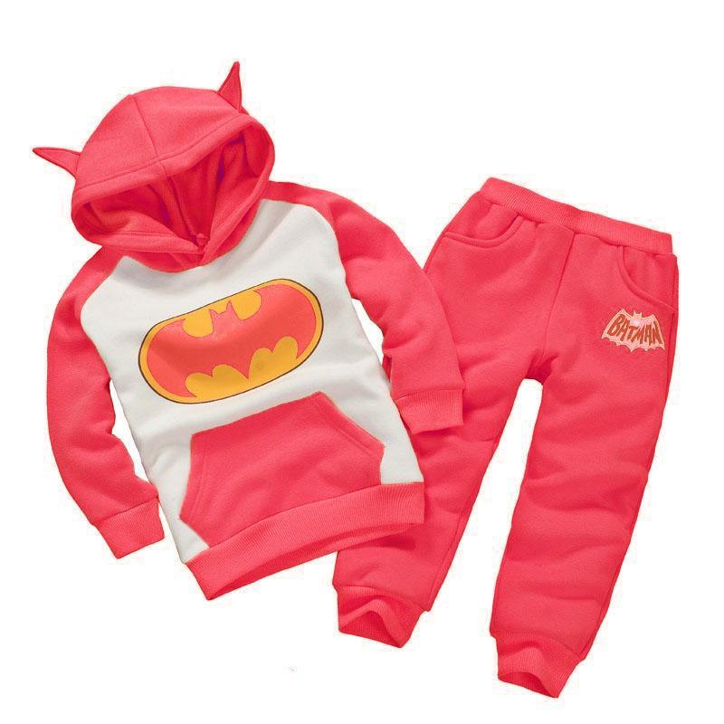 Kinderkleding Kostuum.2019 Kinderkleding Herfst Winter Jongens Kleding Batman Outfits Kids
