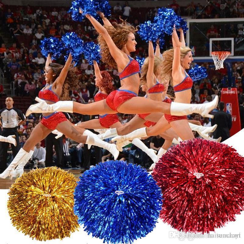 Cheap X Rebel Confederate Flags Best Cheerleader Poms Game Pompoms Practical Cheerleading Cheering Pom Apply to