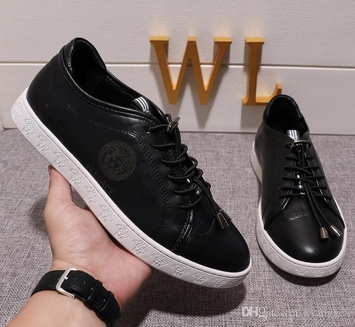 bfa4bb4c42b 2019 New Hot Original Shoe Box Autumn Lace Up Men S Canvas Shoes Man Casual  Ankle Boots Winter Fashion Leather Shoes Mens Flats Moccasins Boat Shoes  From ...