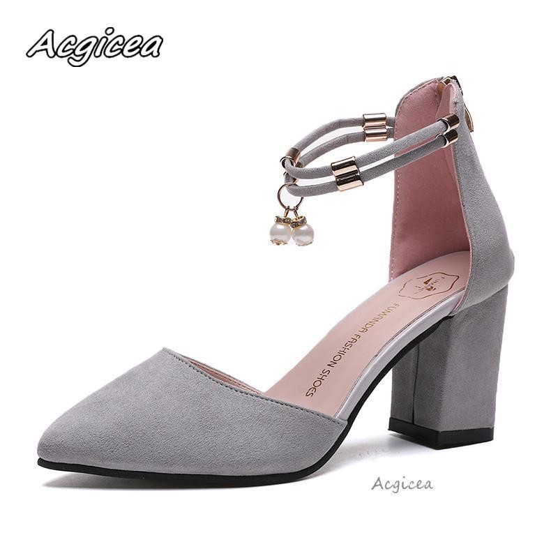 Acheter Femme Avec Sandales Été 2019 Neuf Chaussures Épais Habillé 8OkNnPZ0Xw