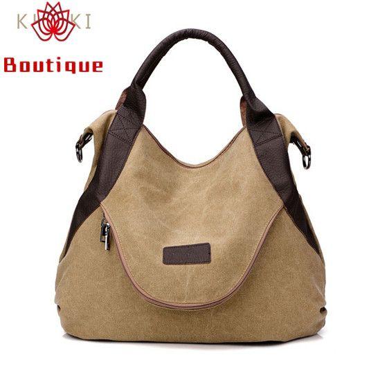 fb050e4e9ca2 Boutique Brand Large Pocket Casual Tote Women s Handbag Shoulder ...