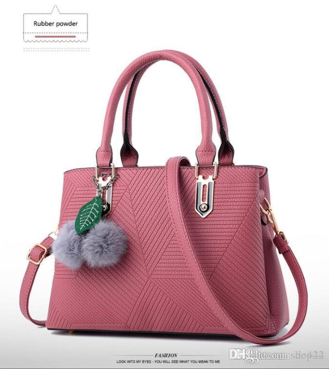 Large Capacity Bag Handbags Top Handles 2019 brand fashion designer luxury bags Evening Shoulder Hobo Crossbody Seller handbag European Pink