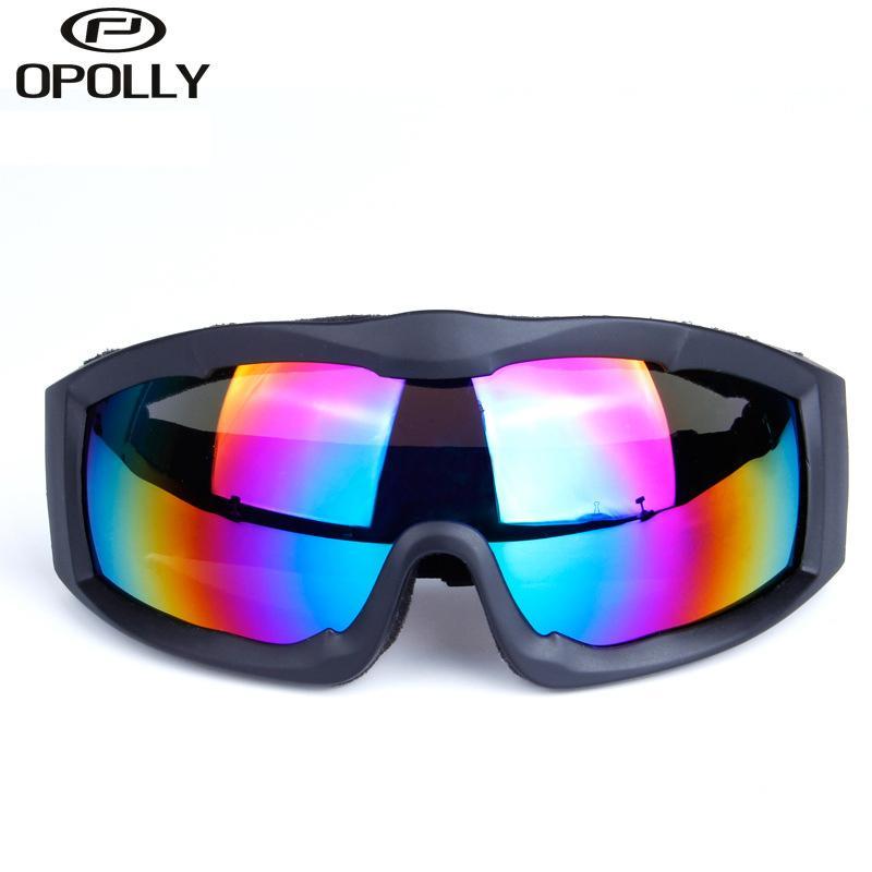 365f3a4a1df6e Compre Óculos De Esqui Snowboard TPU PC Lente Olhos Proteção Anti UV Óculos  De Neve Óculos De Neve Occhiali Da Sci Homens Mulheres Esqui Óculos De  Esqui De ...