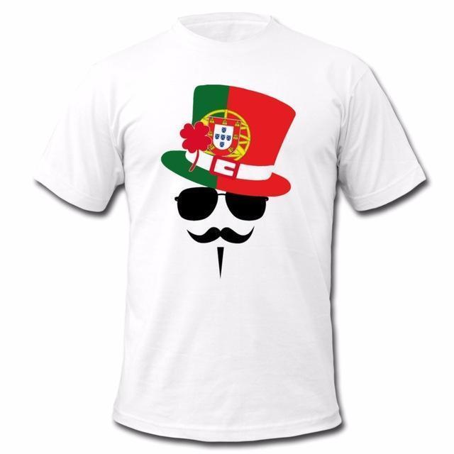 Summer Shirts T Mens Shirt Go Designer Fan New Portugal Mustache srdthQ