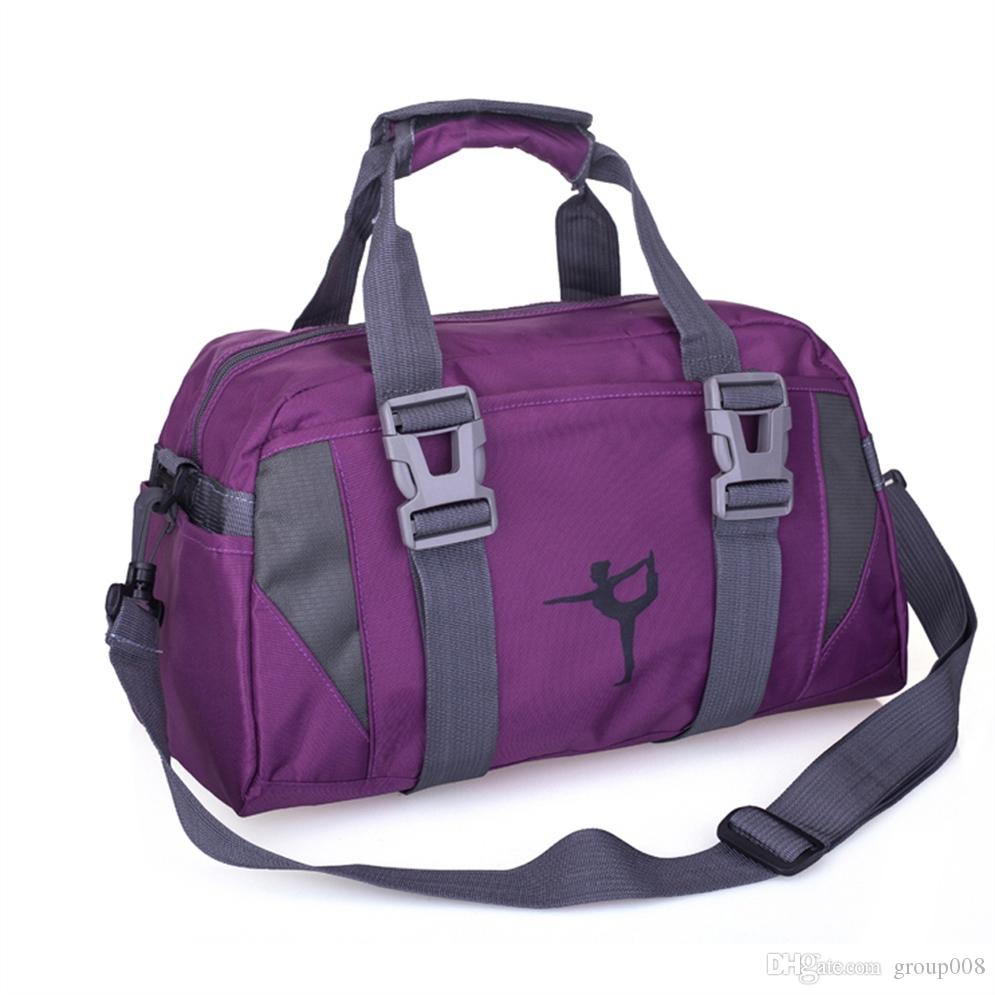 fc01253e87 2019 Women Men Fitness Gym Bags Yoga Mat Bag Sports Oxford Cloth Training  Shoulder Bag Indoor Outdoor Sport Backpack Travel #928119 From Group008, ...