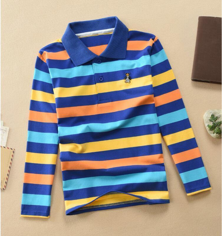 732a9f116b 2019 Good Quality Kids Baby Boys & Girls Polo Shirts High Quality Children  Boys Long Sleeve Cotton Striped Tshirt Children Kids Clothes From  Xiaocao03, ...