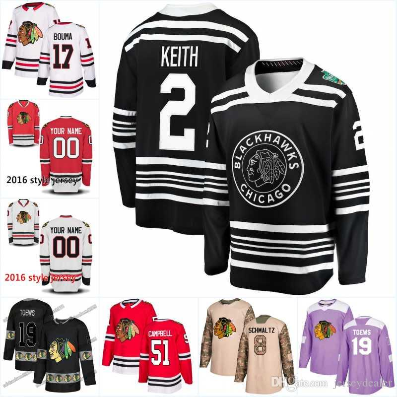 online store 5a566 ea3f0 Men New Season Chicago Blackhawks Jersey 29 Andreas Martinsen 95 Dylan  Sikura 17 Dylan Strome 19 Jonathan Toews Hockey Jerseys