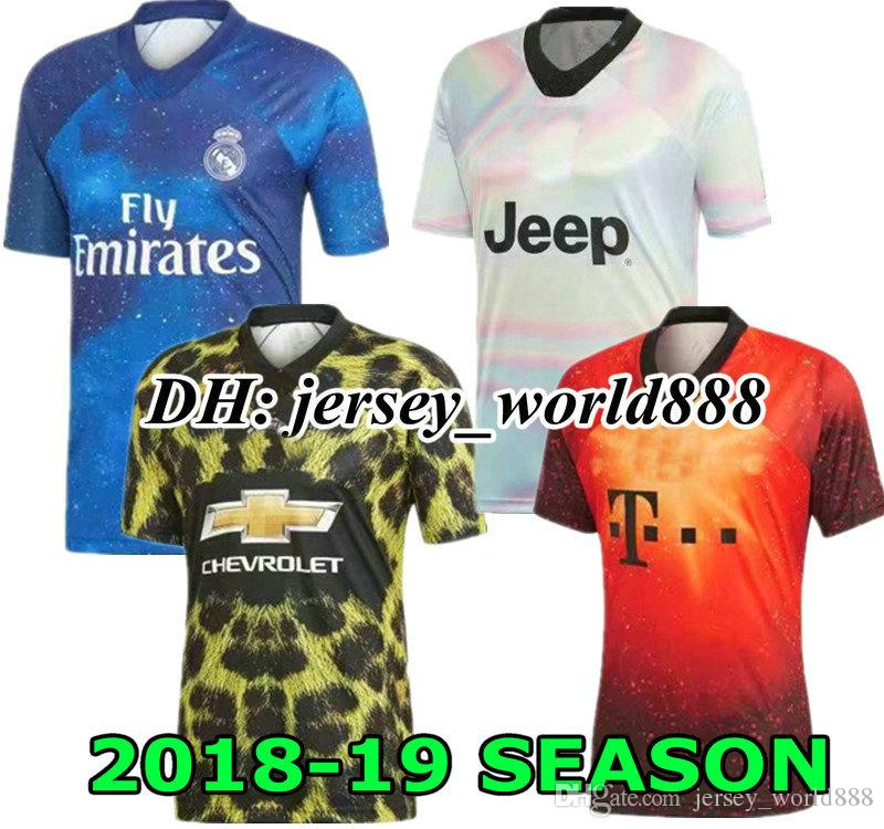 b3f7a0168a0 RONALDO 18 19 Real Madrid Jersey Soccer United Special Edition 2018 ...
