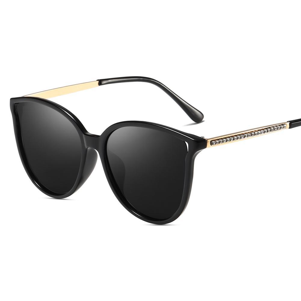 2019 Womens Polarized Sunglasses For Ladies Eye Oversized Cateye Driving Rhinestone Brand New Fashion Cat Glasses Sun Y76bfgvIy