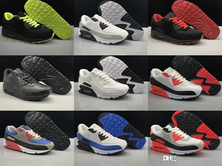 c5f0a234a21c41 2018 Sneakers Shoes Classic 90 Men And Women Shoes Sports Trainer ...