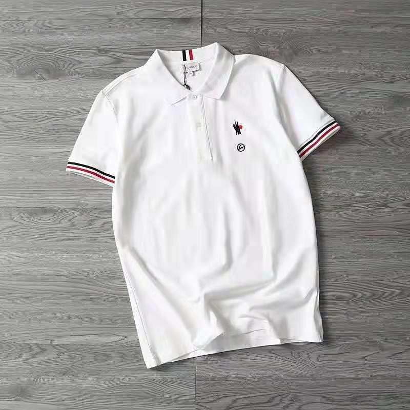 21b173ed17df 2019 Summer Men Tops Embroidery Brand Polo Shirts Short Sleeve ...