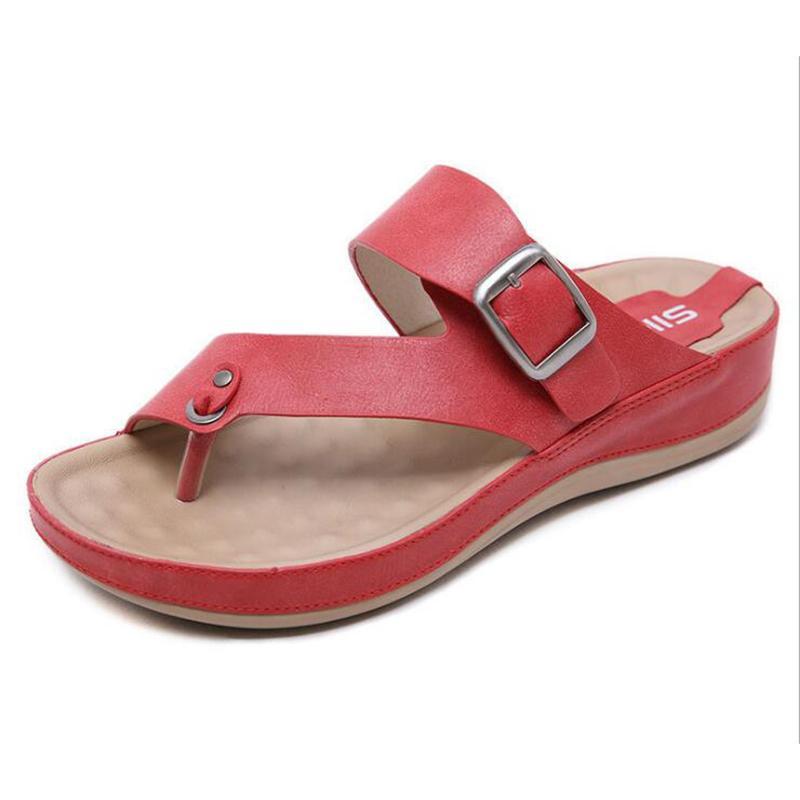 9a797690795530 Summer Shoes Pregnant Women Slippers Pantoffels Dames Flip Flops ...