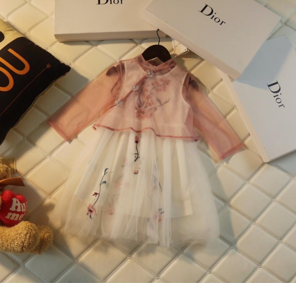 ae890d78783 Acheter Jupe Pour Enfants Nouvelle Mode Atmosphère Simple Maille ...