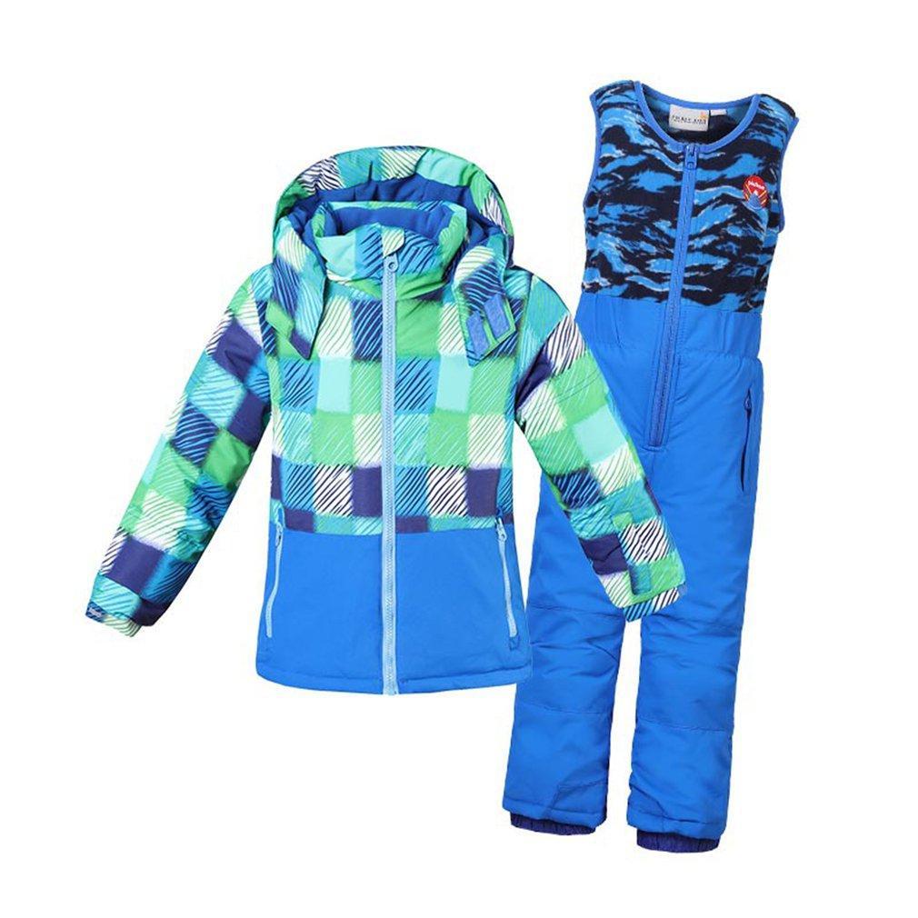 3722ec6b08da Phibee Boys Girls Ski Suit Waterproof Pants+Jacket Set Winter Sports ...