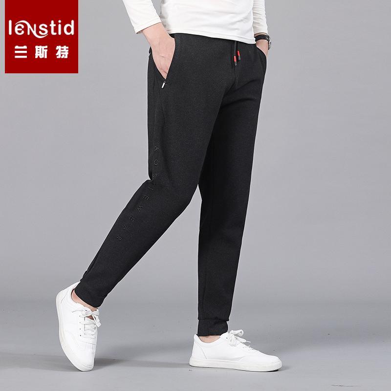 e844e1bb805829 Acquista LENSTID Marca Pantaloni Sportivi Uomini 2019 Inverno Nuovi  Pantaloni Jogger Pantaloni Moda Uomo Coulisse Casual Caldo Hip Hop  Streetwear 8xl 9xl A ...