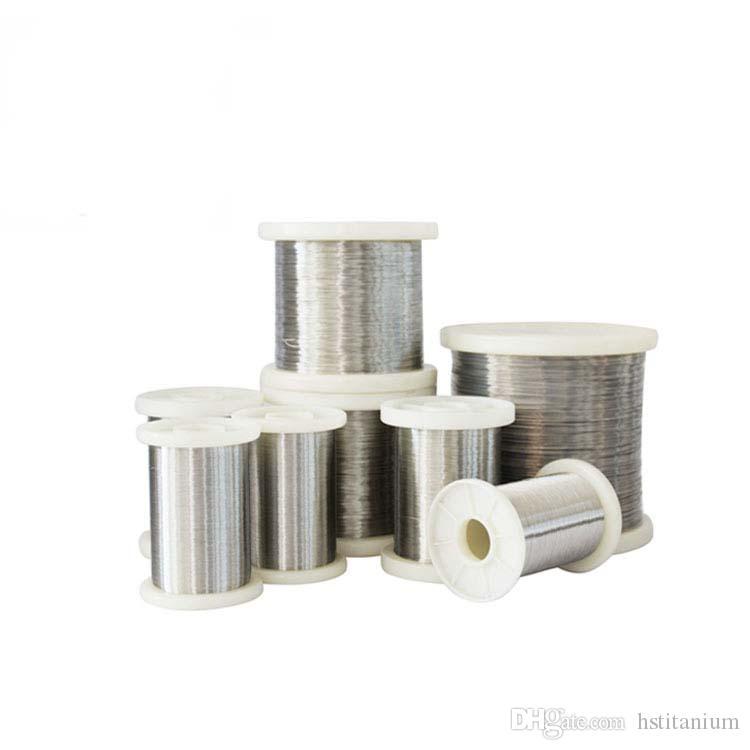 High Quality Titanium Coil Wire Dia0 05--Dia6 0mm Pure thinTitanium Wire  with titanium price per kg Price for hot sell