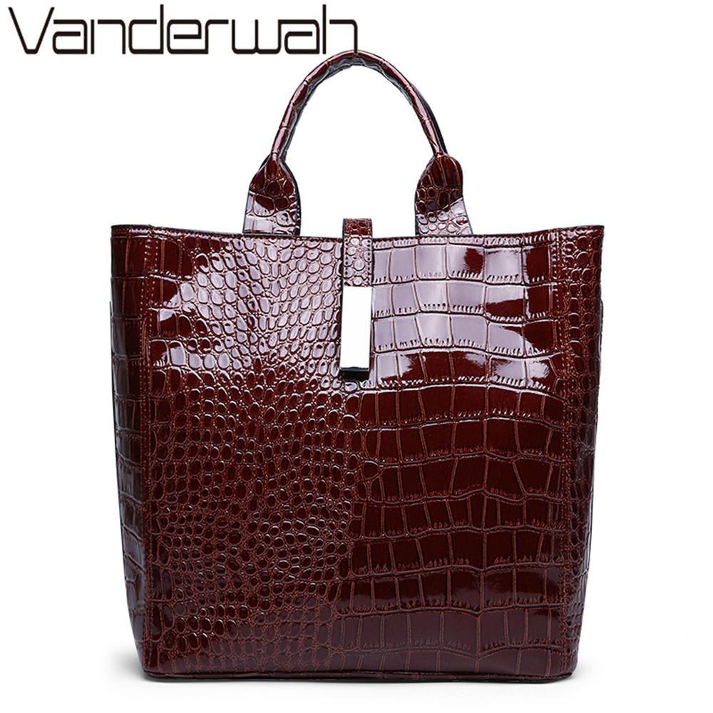 4383a022027 New Alligator Ladies Hand Bags For Women 2019 Luxury Handbags Women ...