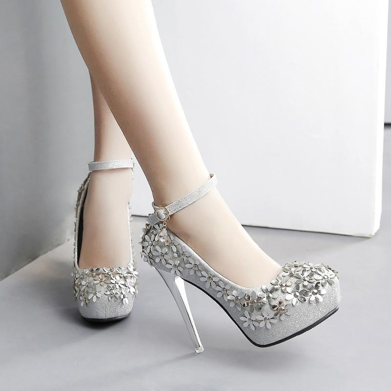 compre zapatos de boda de las mujeres de moda a prueba de agua