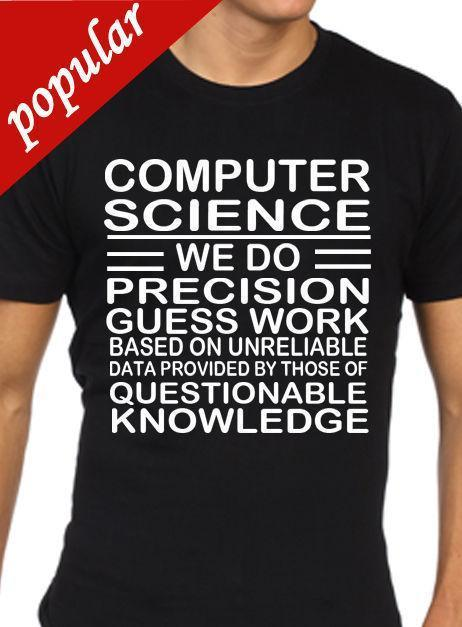 Computer Science T Shirt Funny Mens Computing Programmer Programming