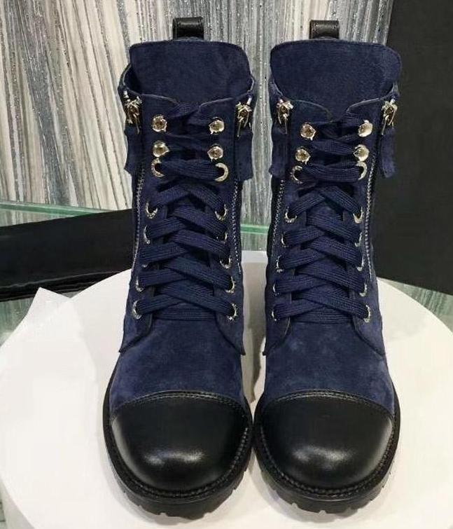 6d5e73e48e8 2019 Casual Shoes Designer style Sale Motorcycle boots Biker Shoes Women  Genuine Leather Brand Shoe Famous Designer Woman Flats shoes m2