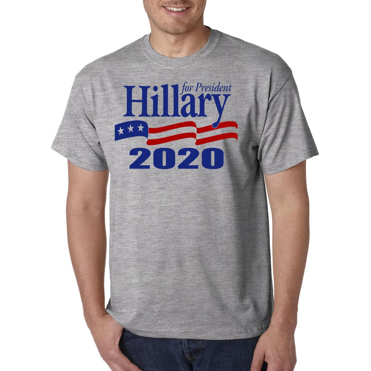 c4b19309a021 Hillary Clinton For President 2020 T-Shirt - Rematch Dump Donald ...