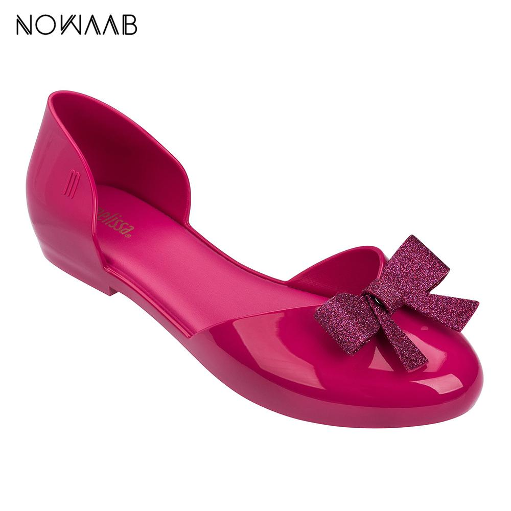 6506bcfb4 Melissa Women Jelly Sandals Bow 2019 New Summer Ladies Sandals Breathable  Melissa Female Shoes Non Slip Women Bridal Shoes Cheap Shoes From Viceokae