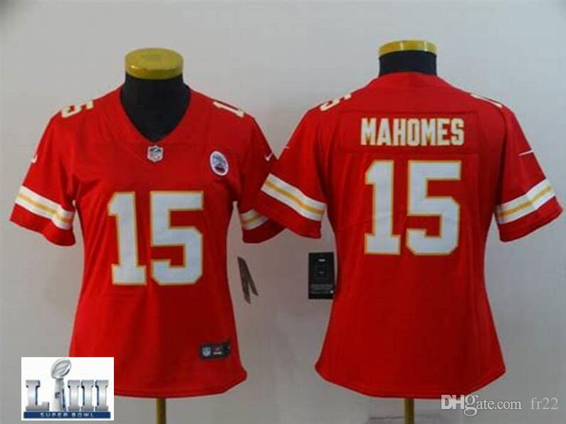 2019 Women S Patrick Mahomes Chiefs Jersey Tony Gonzalez Justin Houston Travis  Kelce Cheap Authentic America Football Jerseys Pro Super Bowl LIII From  Dh104 ... 1f368a307
