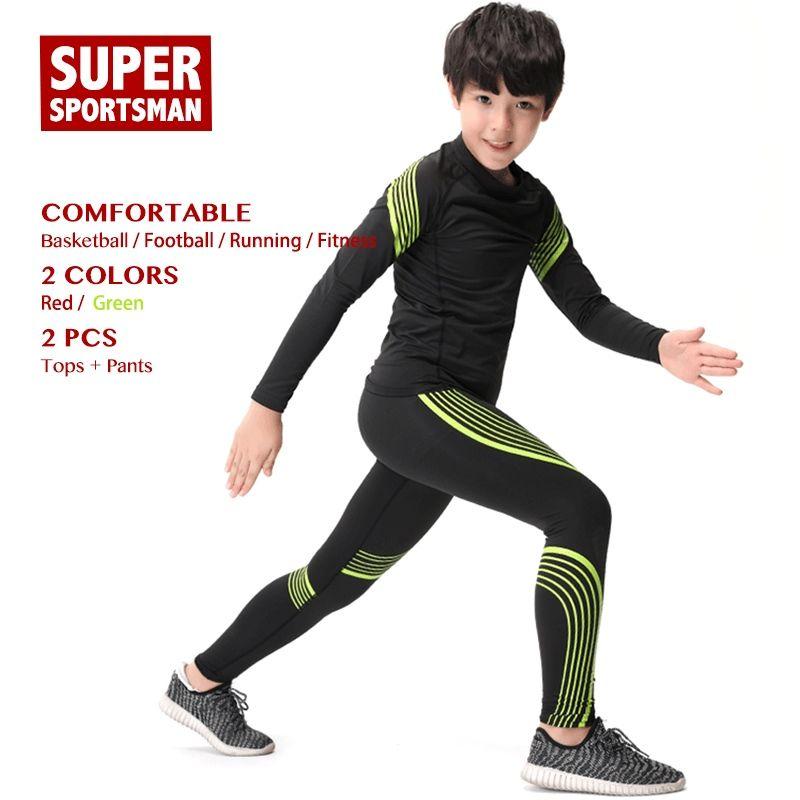 Kinder Sportbekleidung Training Jogginganzüge Kinder Jungen Trainingsanzug Kleinkind Laufen Sportbekleidung Männer Fitness Gym Kleidung Kleidung Sets