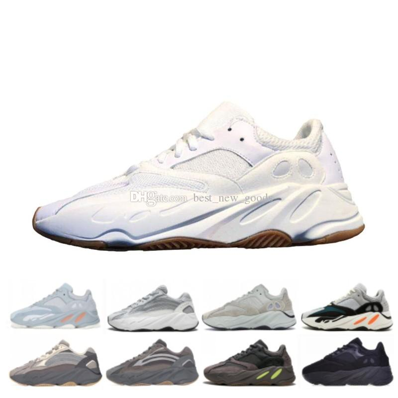 97c8df866 2019 700 Wave Runner 2019 Kanye West Running Shoes Inertia Salt Static Mens  Womens Designer Sneakers Sport Shoes With Box US 5 11.5 From  Best new goods