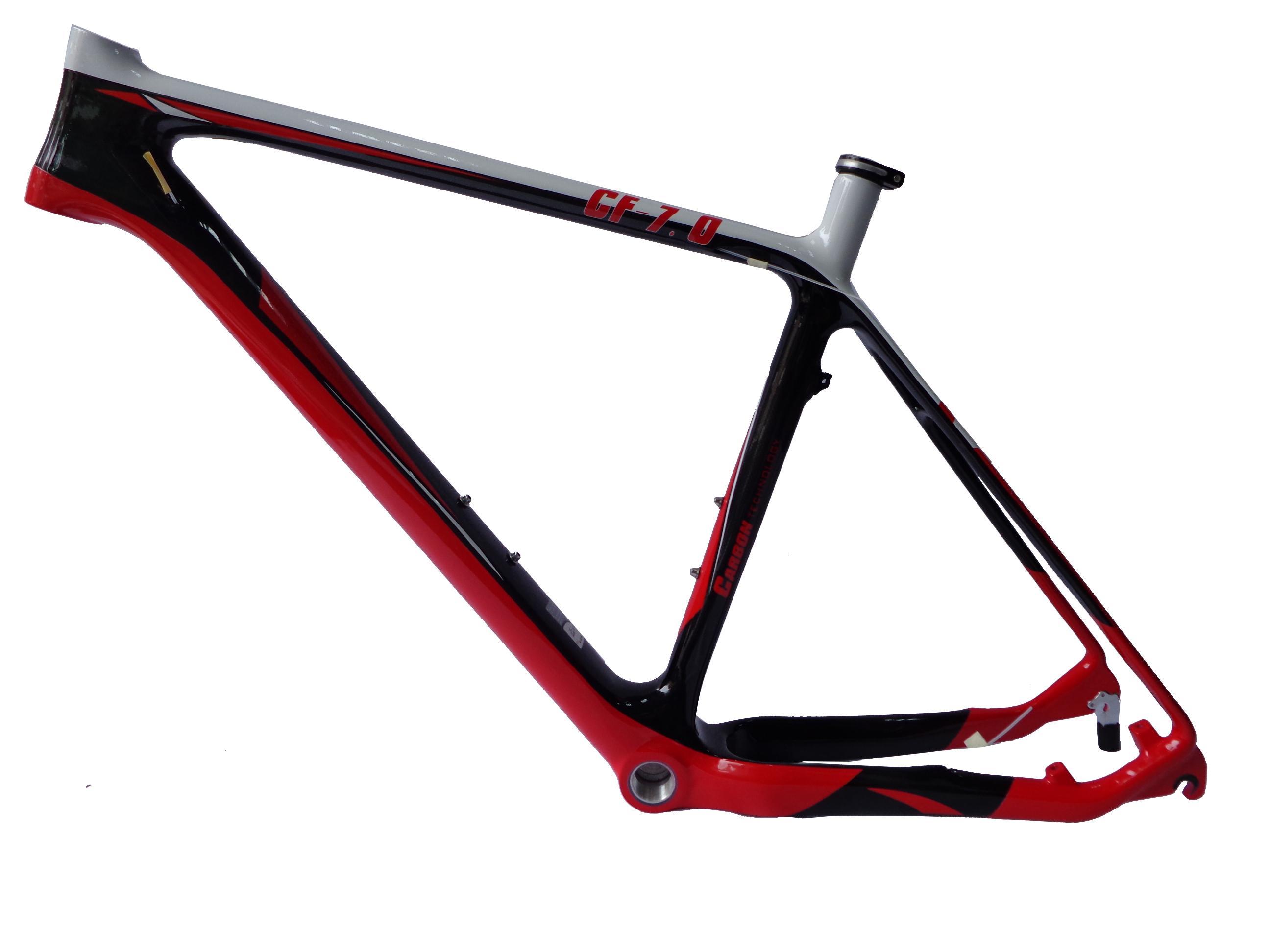 Satın Al Mb207 Kırmızı Renk Boyama Karbon Dağ Bisikleti çerçeve