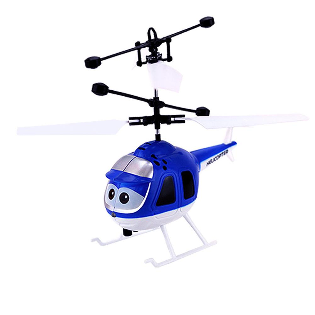 Remote Controlled Helicopter Toy Highest Flying Mini RC Infrared Induction Aircraft Flashing Light Helicopter Toys 1