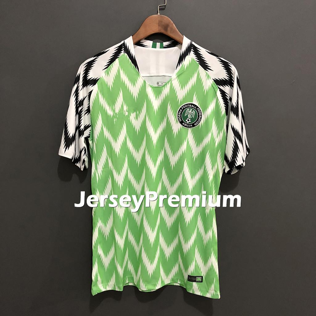 outlet store 035d3 871eb Nigeria JERSEY 2018 World Cup MIKEL Home Green white Soccer Jersey IWOBI  soccer Shirt 2018 World Cup football uniform