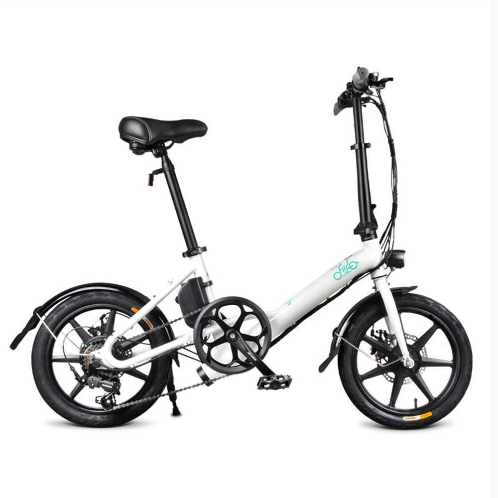 2020 FIIDO D3S Folding Moped Electric Bike Gear Shifting