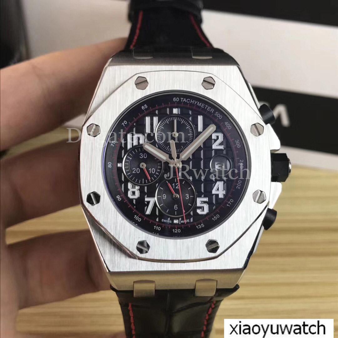 4d24863c113c Compre Relojes Para Hombres Marca Relojes De Lujo Con Cronógrafo De Cuarzo  42 Mm Movimiento VK De Alta Calidad Relojes Deportivos Para Hombres Reloj  De ...