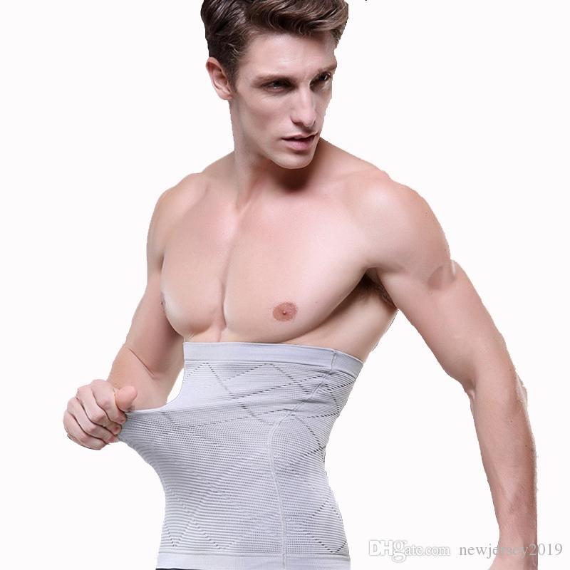 a4865b4bf3705 2019 TFSCLOIN Men Slimming Belt Belly Men S Body Shapers Abdomen Fat Burning  Weight Loss Tummy Waist Sweat Corset Trainer Shapewear  265268 From ...