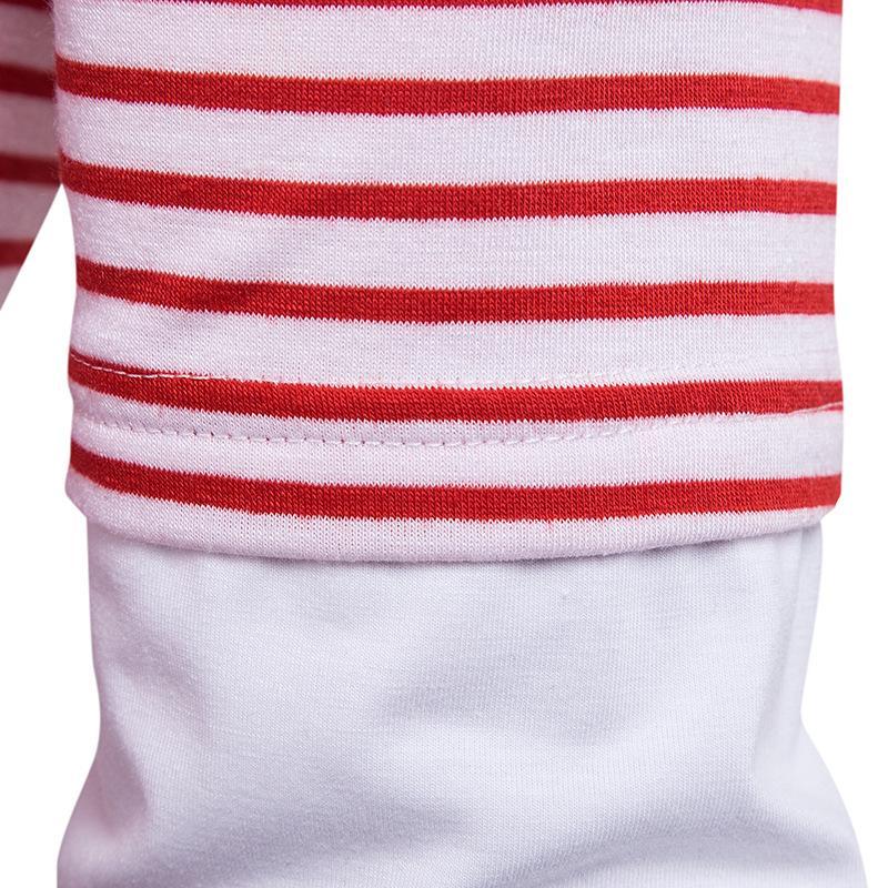 Мужская футболка с длинным рукавом Slim Fit повседневная блузка топы осенняя одежда полосатая футболка