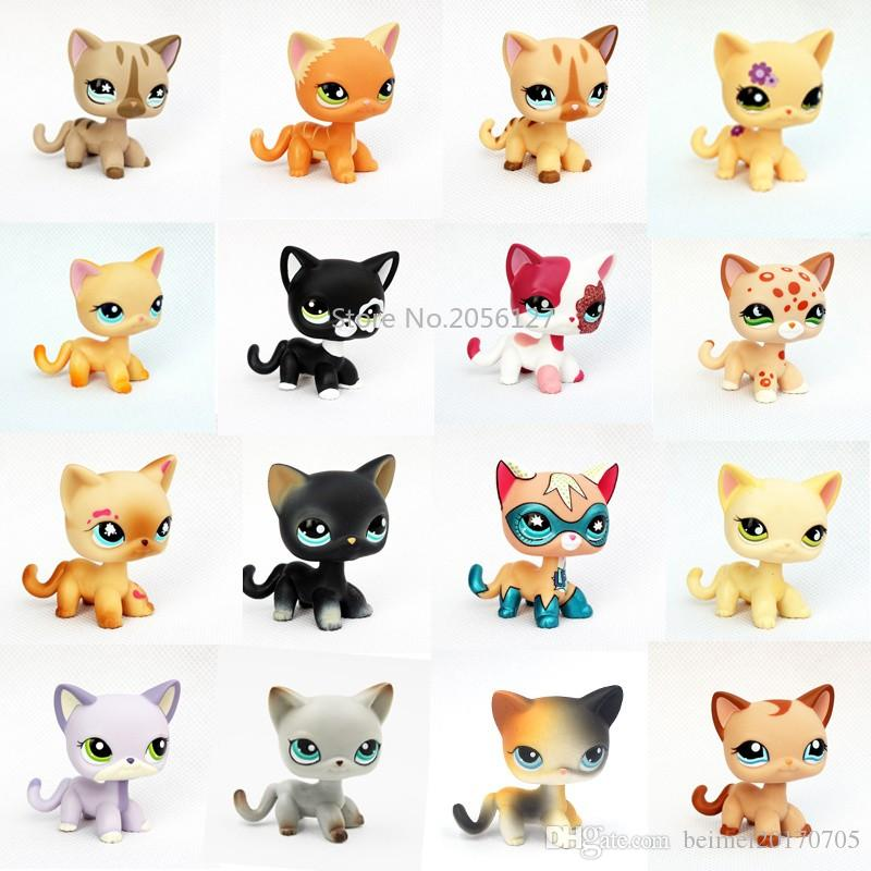 2019 Pet Shop Lps Toys Rare Animal Standing 2291 5 Short Hair Cat