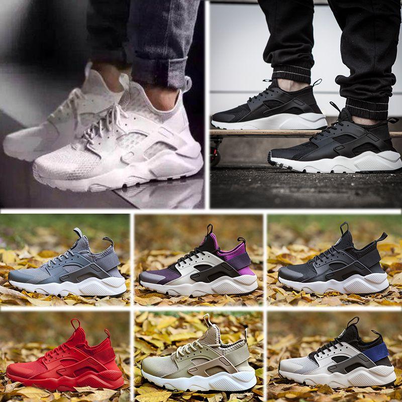 6607a9a8c18d 2019 2017 New Design Huarache 4 IV Running Shoes For Women   Men ...