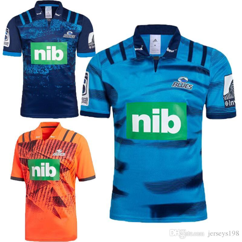 b9e79c4ab AAA+News Blues Super Rugby Training Jersey 2018 2019 Rugby Jerseys ...