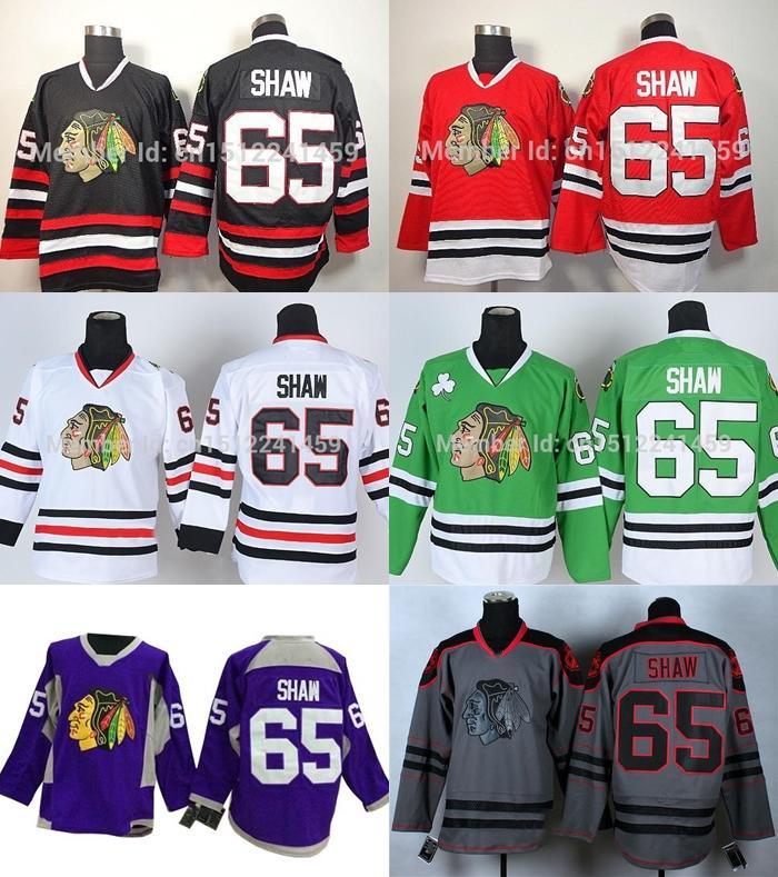 separation shoes 4bc80 7f43b 2016 Free Shipping Authentic Chicago Blackhawks Jerseys #65 Andrew Shaw  Jersey Cheap Ice Hockey Jerseys China