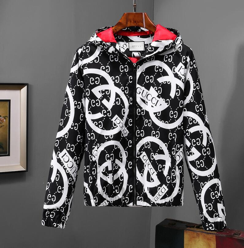 ab15a8411d44 New Italy Autumn Snake Bee Tiger Print Jackets Men New Luxury Brand ...