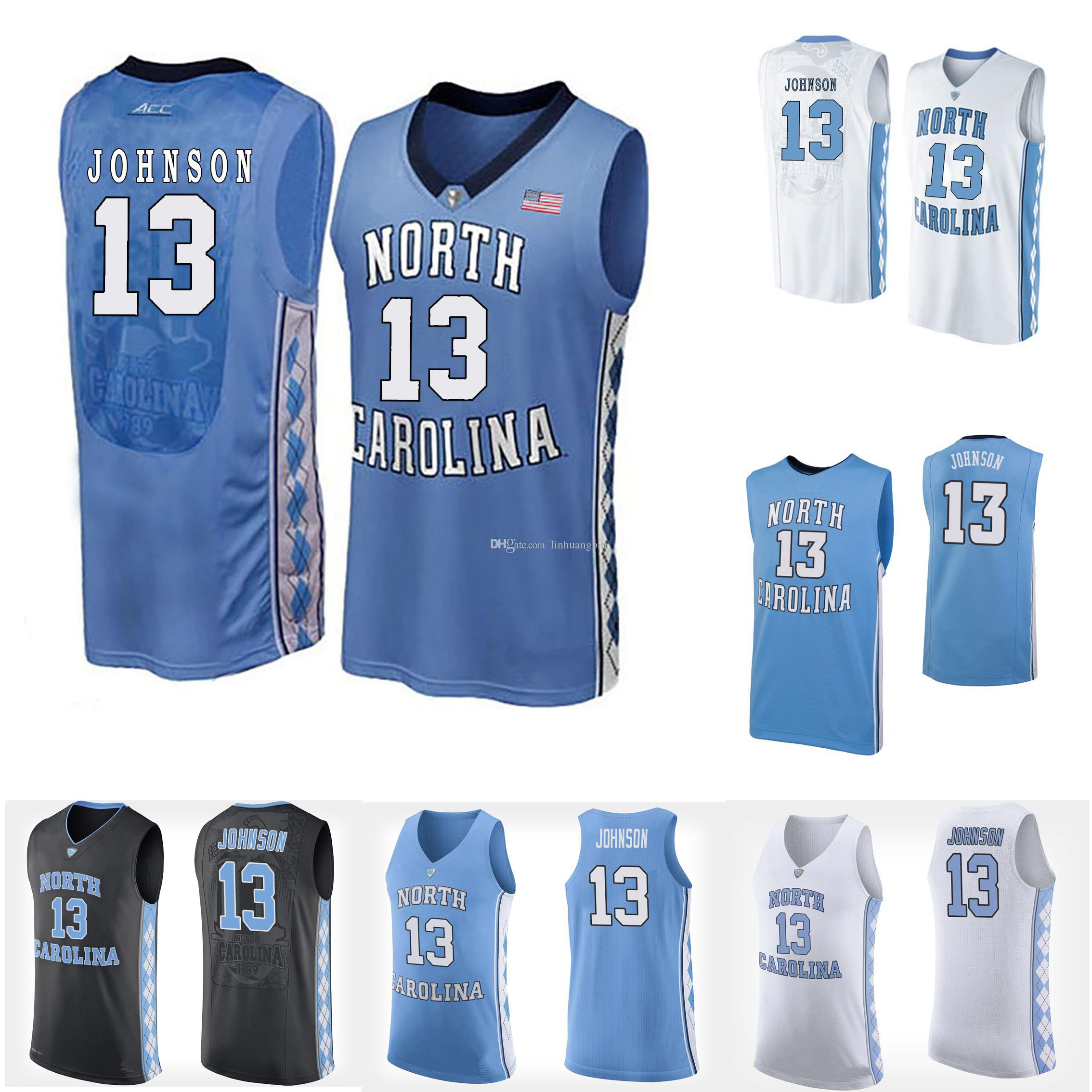 low priced 4cfc1 b6826 Cameron Johnson Youth North Carolina Tar Heels Kanler Coker Black Shea Rush  White Stitched College Basketball Jersey