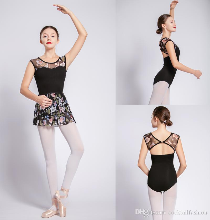 b15e8a063 2019 Ballet Dance Leotards Women High Quality Cotton Gymnastics Dancing  Costume Adult Cheap Ballet Leotard Girls Dance Wear From Cocktailfashion,  ...