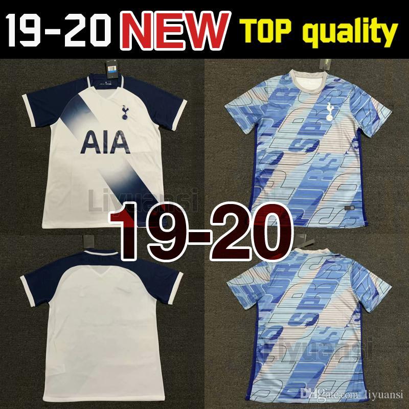 best service 1343b 16f21 TOP Thailand KANE spurs soccer jersey 2019 2020 LUCAS jerseys ERIKSEN DELE  SON 19 20 Football shirt kit Men uniforms maillot de foot
