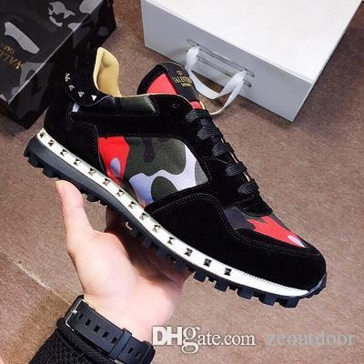 GarVani Compre Sneaker Tachonado Remache Camuflaje 2019 Zapatos AcjLq435R